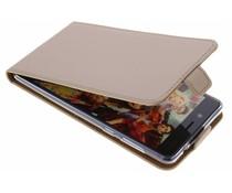 Selencia Goud TPU Luxe Flipcase Nokia 8