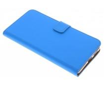 Selencia Blauw Luxe TPU Book Case Nokia 8