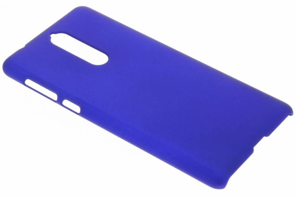 Blauw effen hardcase hoesje voor de Nokia 8