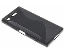 Zwart S-line TPU hoesje Sony Xperia XZ1 Compact