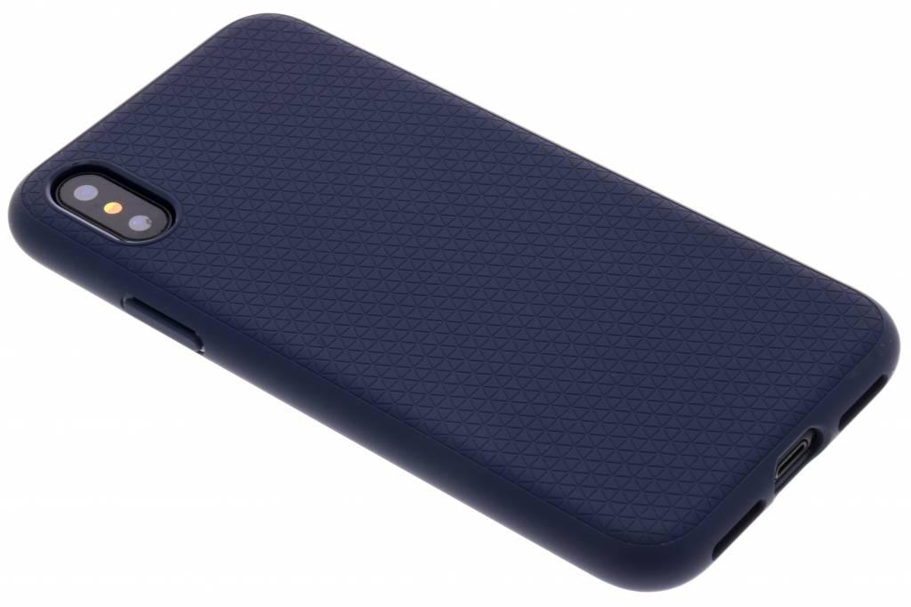 Spigen Blauwe Liquid Air Case voor de iPhone X