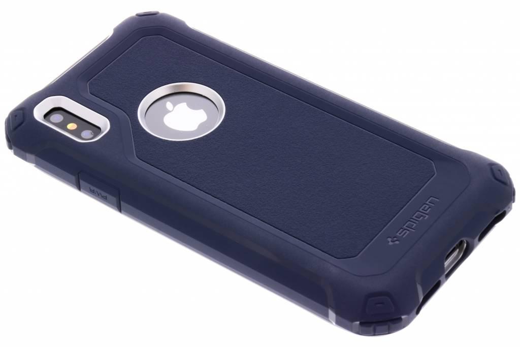 Spigen Blauwe Pro Guard™ Case voor de iPhone X