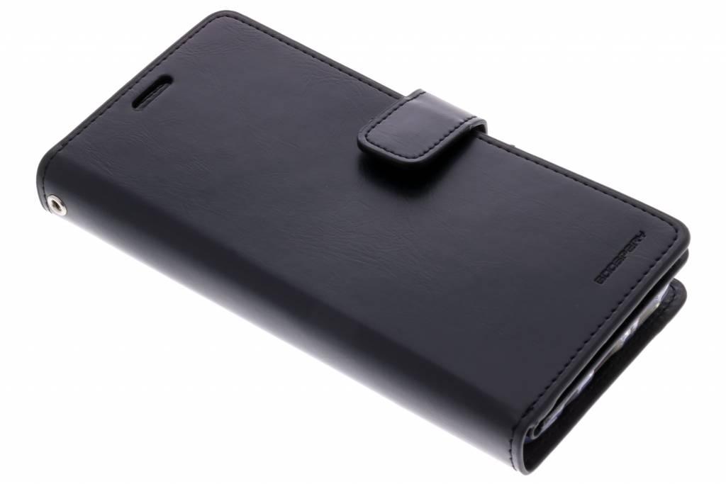 Zwarte Mansoor Wallet Diary Case voor de Samsung Galaxy S9 Plus