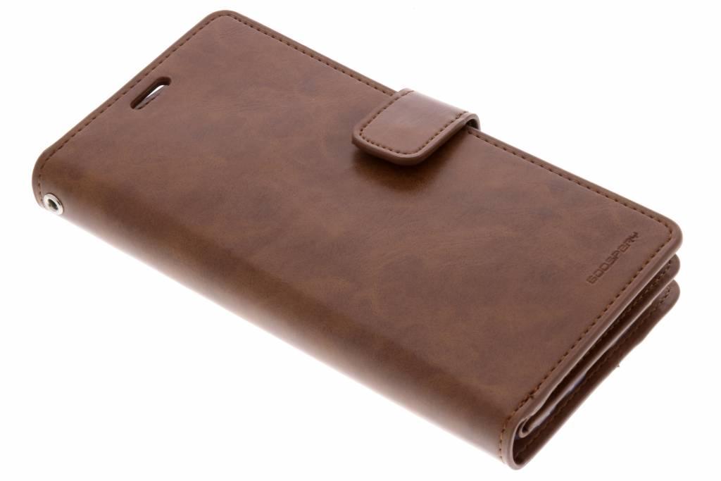 Bruine Mansoor Wallet Diary Case voor de Samsung Galaxy S9 Plus