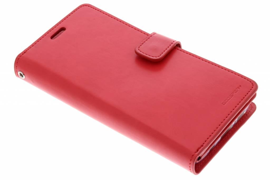 Rode Mansoor Wallet Diary Case voor de Samsung Galaxy S9 Plus