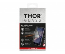 THOR Zwart 9H+ Case-Fit Glass Screen Protector Samsung Galaxy S9
