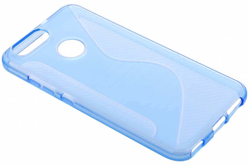 Blauwe S-line TPU hoesje voor de Huawei Nova 2