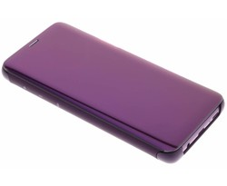 Samsung Violet Clear View Standing Cover Galaxy S9 Plus