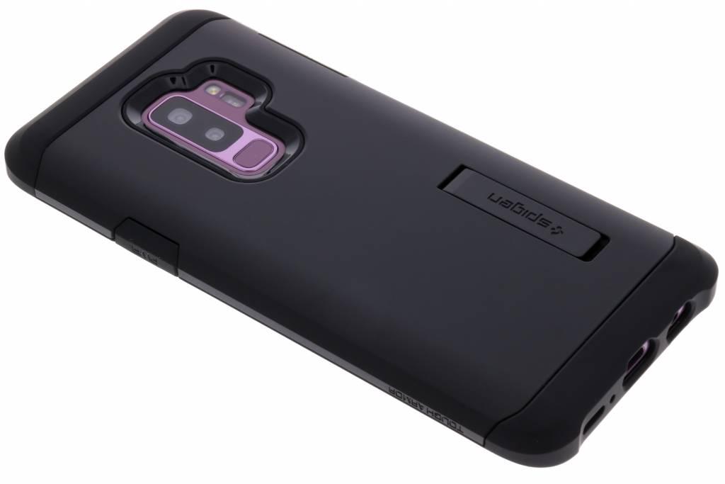 Zwarte Tough Armor™ Case voor de Samsung Galaxy S9 Plus