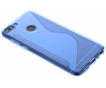 Blauw S-line TPU hoesje Huawei P Smart
