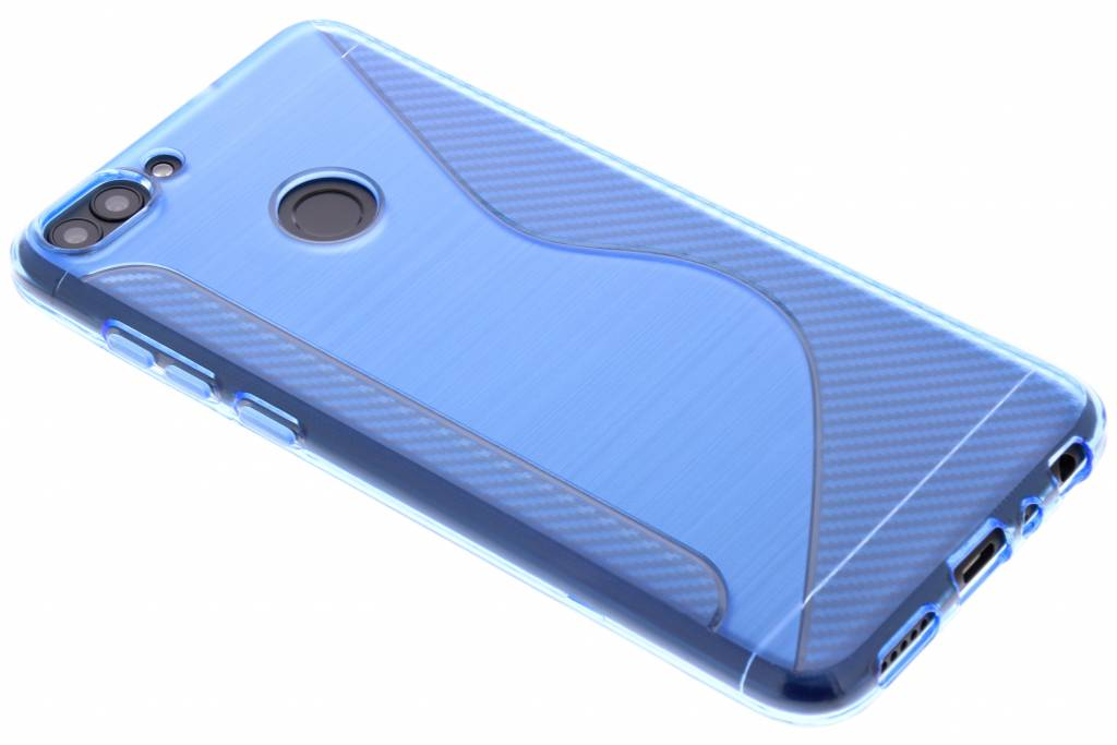 Blauwe S-line TPU hoesje voor de Huawei P Smart