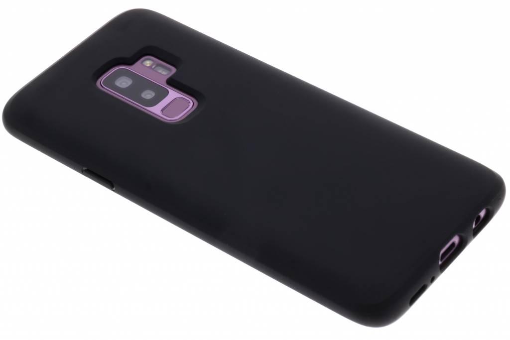 Zwarte Liquid Crystal™ Case voor de Samsung Galaxy S9 Plus