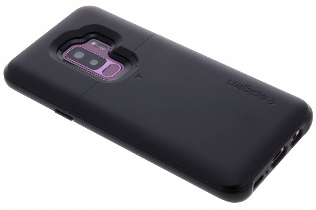 Zwarte Slim Armor™ CS Case voor de Samsung Galaxy S9 Plus