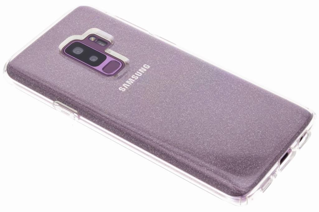 Transparante Liquid Crystal Glitter™ Case Samsung Galaxy S9 Plus