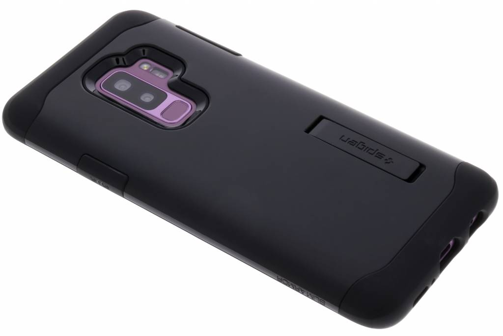 Zwarte Slim Armor™ Case voor de Samsung Galaxy S9 Plus