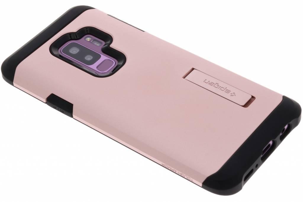 Rosé Gouden Tough Armor™ Case voor de Samsung Galaxy S9 Plus