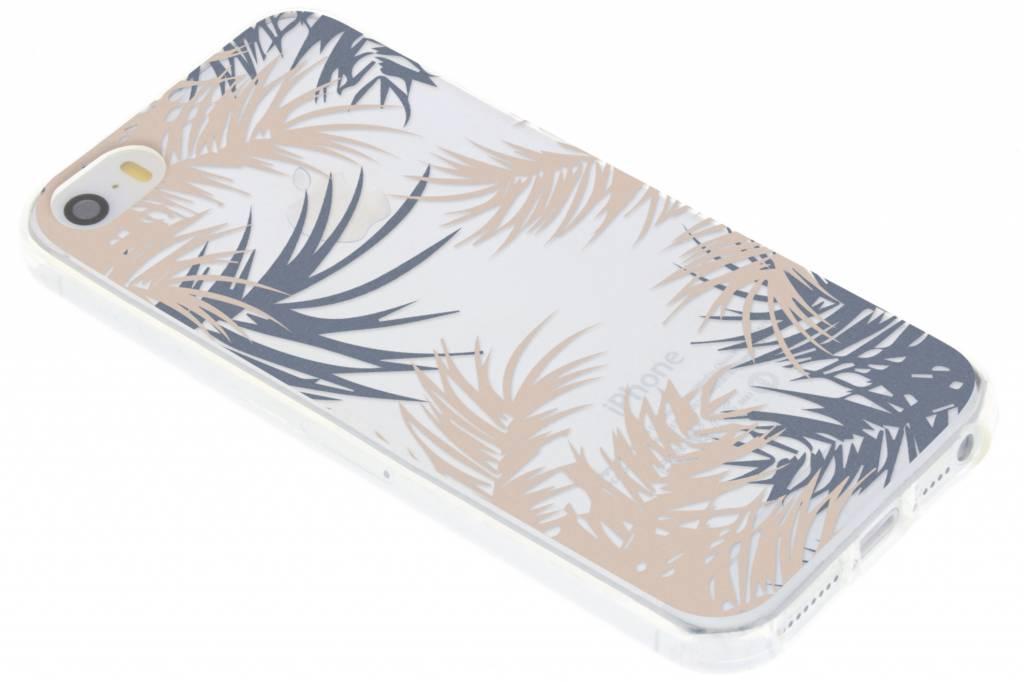 Botanic design siliconen hoesje voor de iPhone 5 / 5s / SE