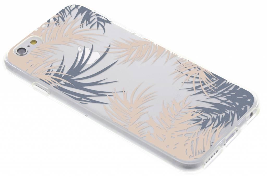 Botanic design siliconen hoesje voor de iPhone 6 / 6s