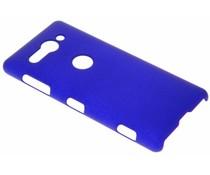 Blauw effen hardcase hoesje Sony Xperia XZ2 Compact