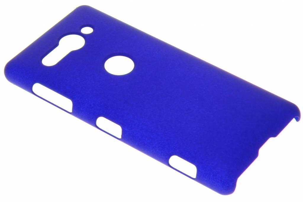 Blauw effen hardcase hoesje voor de Sony Xperia XZ2 Compact