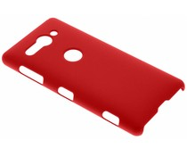 Rood effen hardcase hoesje Sony Xperia XZ2 Compact