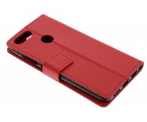 Rood TPU Bookcase Asus ZenFone Max Plus