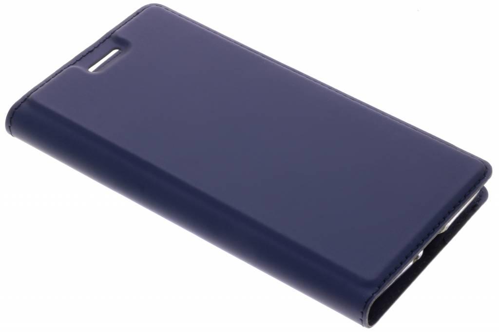 Dux Ducis Blauwe Slim TPU Booklet voor de Sony Xperia XZ2 Compact