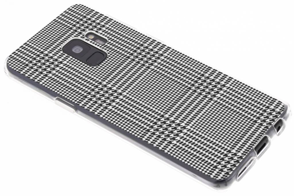 Ruiten design siliconen hoesje voor de Samsung Galaxy S9
