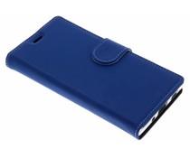 Accezz Blauw Wallet TPU Booklet Sony Xperia XA2