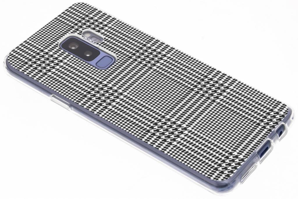 Ruiten design siliconen hoesje voor de Samsung Galaxy S9 Plus