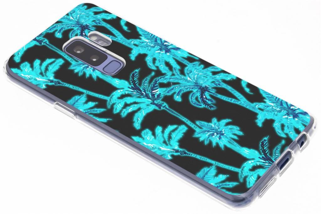 Palmbomen design siliconen hoesje voor de Samsung Galaxy S9 Plus