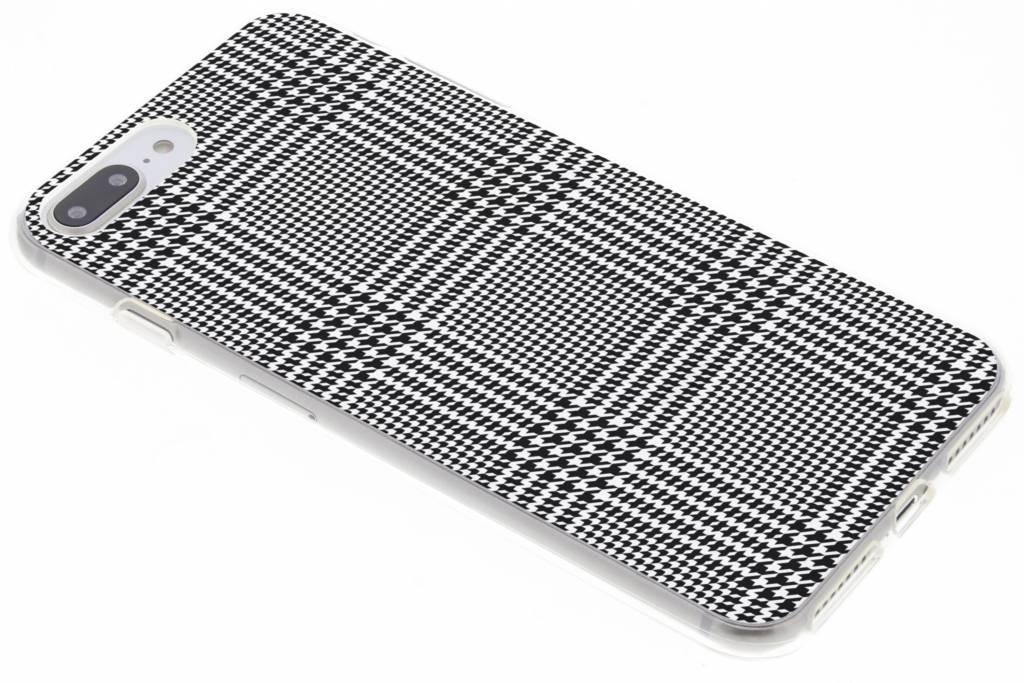 Ruiten design siliconen hoesje voor de iPhone 8 Plus / 7 Plus