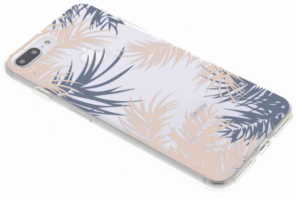 Botanic design siliconen hoesje voor de iPhone 8 Plus / 7 Plus