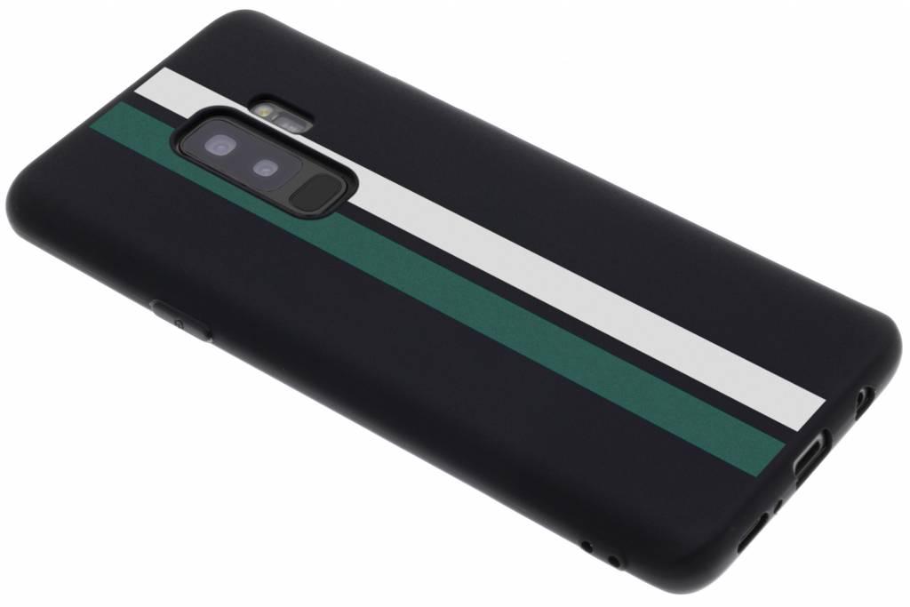 Strepen design siliconen hoesje voor de Samsung Galaxy S9 Plus