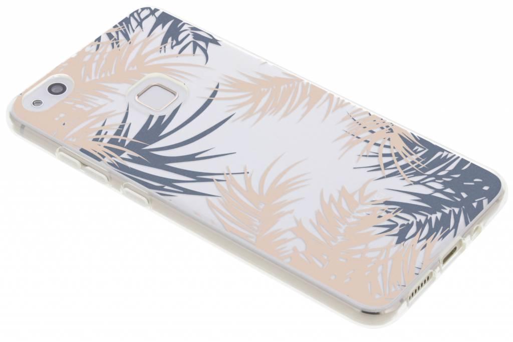Botanic design siliconen hoesje voor de Huawei P10 Lite