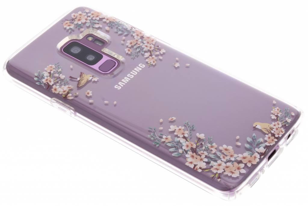 Transparante Liquid Crystal Blossom™ Case voor de Samsung Galaxy S9 Plus