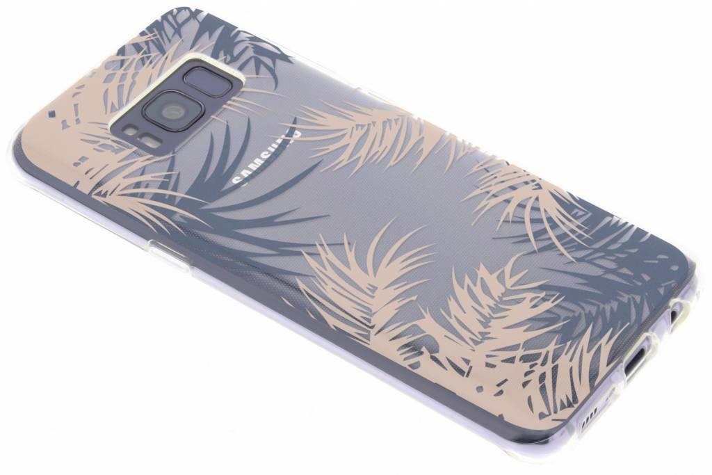 Botanic design siliconen hoesje voor de Samsung Galaxy S8