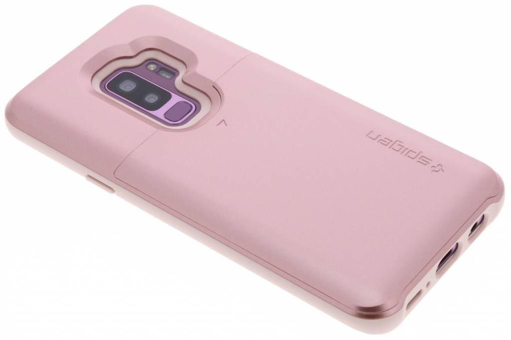 Rosé Gouden Slim Armor™ CS Case voor de Samsung Galaxy S9 Plus