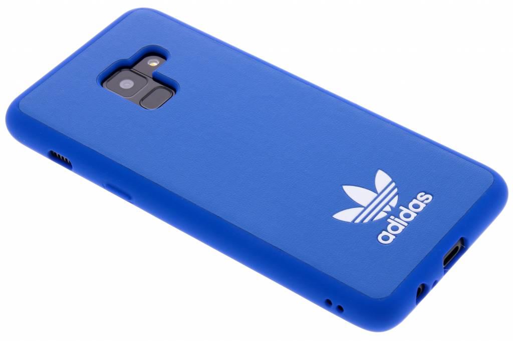 Blauwe Basic Logo Case voor de Samsung Galaxy A8 (2018)