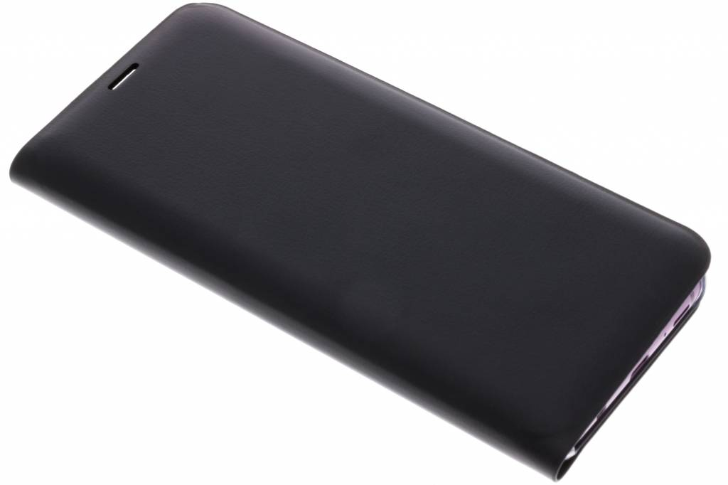 Zwarte Luxe slim booktype hoes voor de Samsung Galaxy S9 Plus