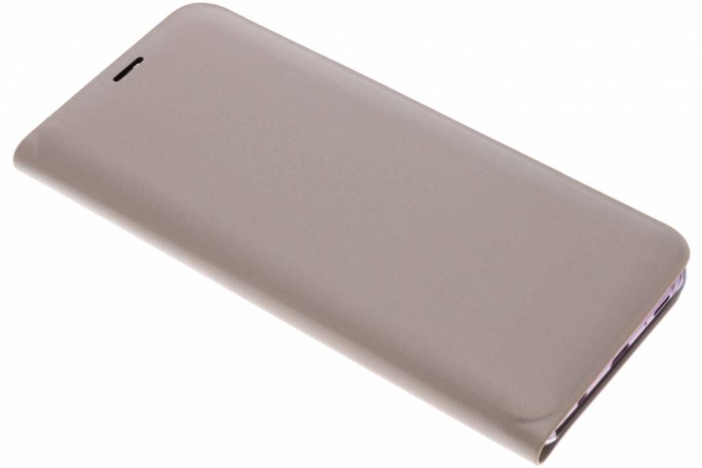 Gouden Luxe slim booktype hoes voor de Samsung Galaxy S9 Plus