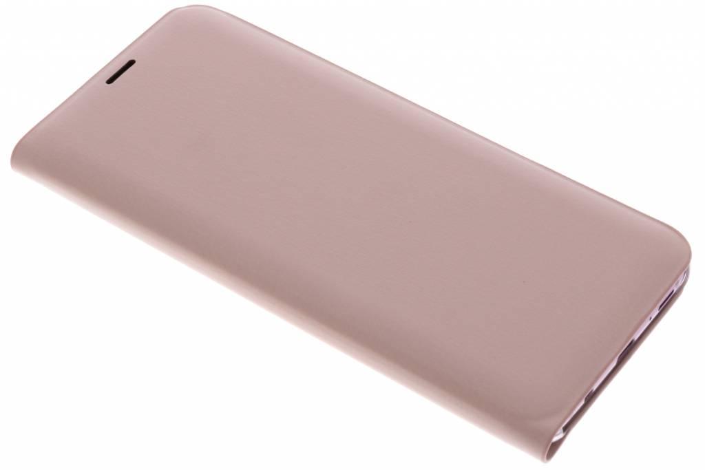 Rosé Gouden Luxe slim booktype hoes voor de Samsung Galaxy S9 Plus