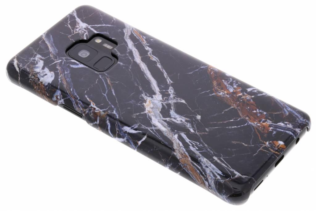Selencia Black Marble Passion Hard Case voor de Samsung Galaxy S9
