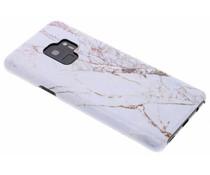 Selencia White Marble Passion Hard Case Samsung Galaxy S9