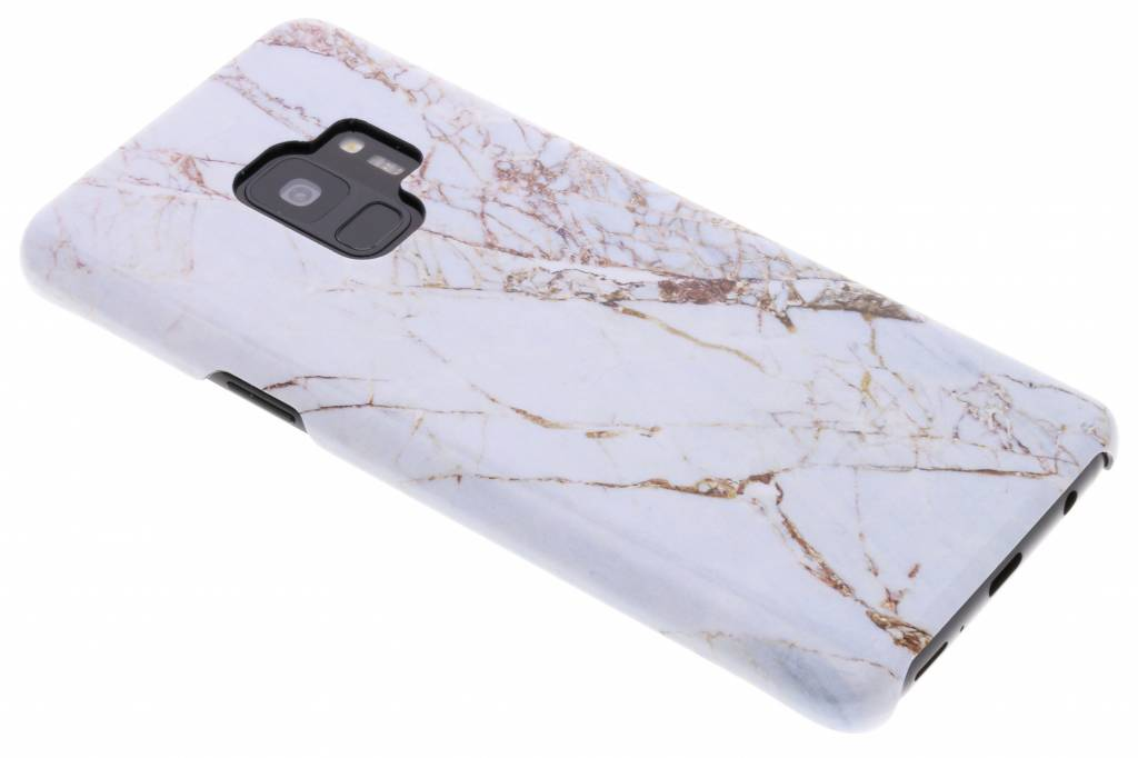 White Marble Passion Hard Case voor de Samsung Galaxy S9