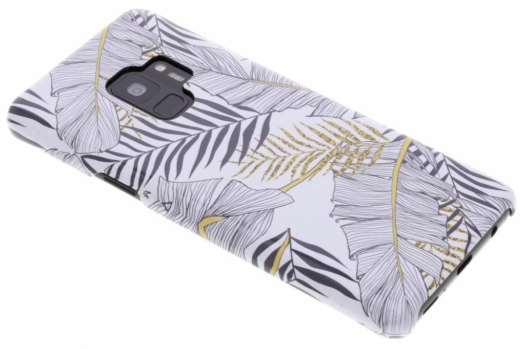 Selencia Botanic Passion Hard Case voor de Samsung Galaxy S9