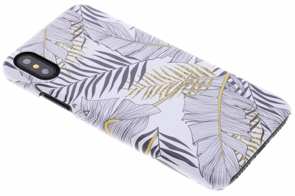 Selencia Botanic Passion Hard Case voor de iPhone Xs / X