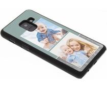 Ontwerp uw eigen Samsung Galaxy A8 (2018) hardcase - Zwart