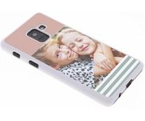 Ontwerp uw eigen Samsung Galaxy A8 (2018) hardcase - Wit