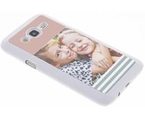 Ontwerp uw eigen Samsung Galaxy J5 hardcase - Wit